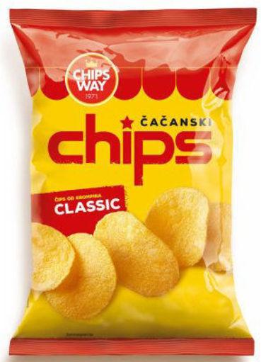 Slika Chips Classic 150g Chipsy Way