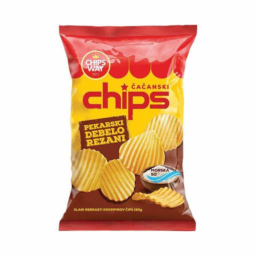 Slika Chips Pekarski 150g Chipsy Way
